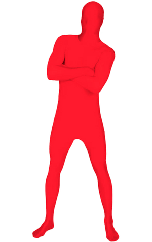 Morphsuit Red Costume