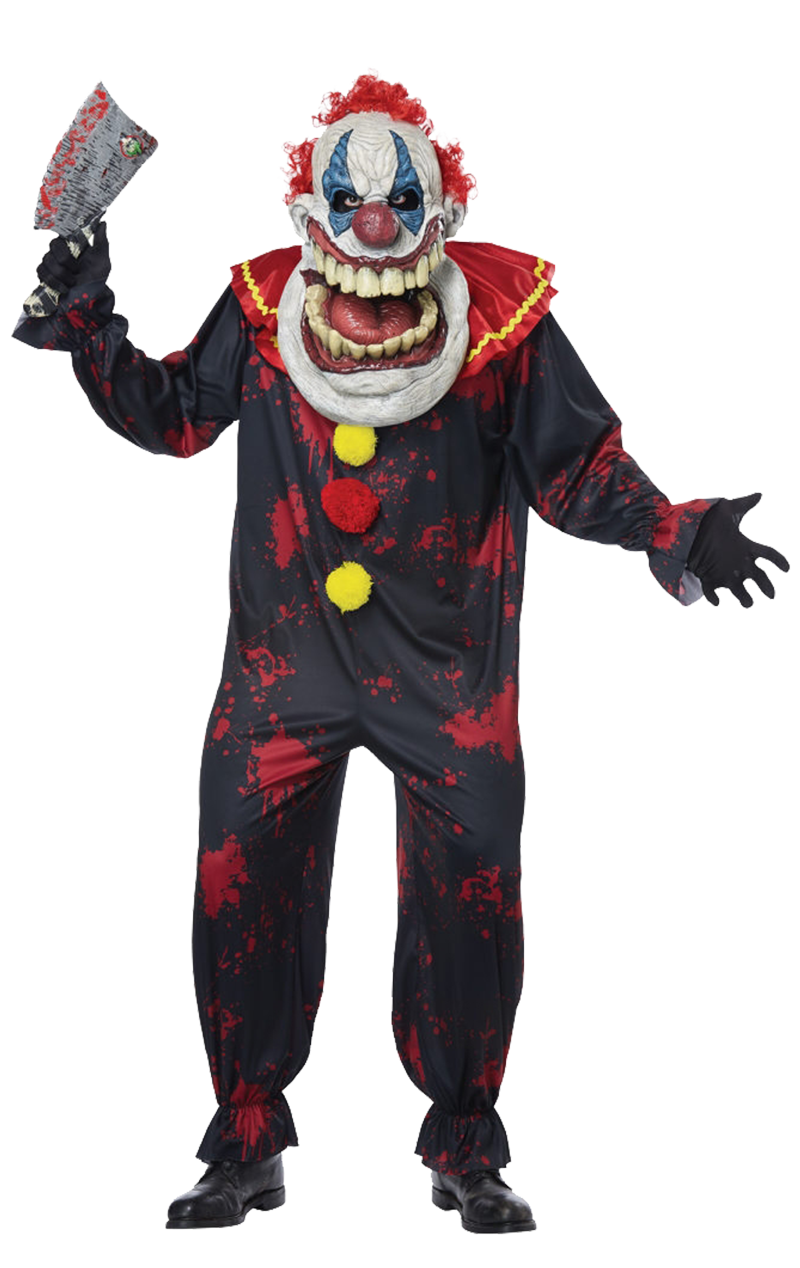 Big Mouth Twisted Clown Costume