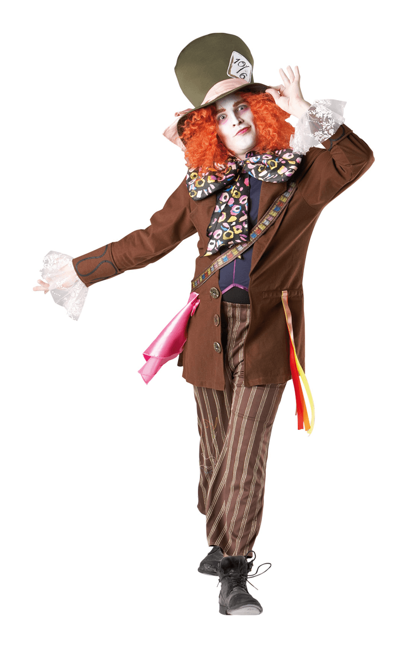 Mens The Mad Hatter Costume