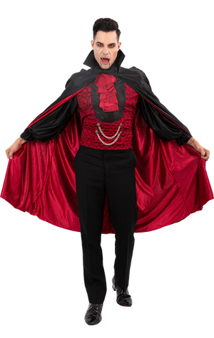 Count Bloodthirst Vamp Costume