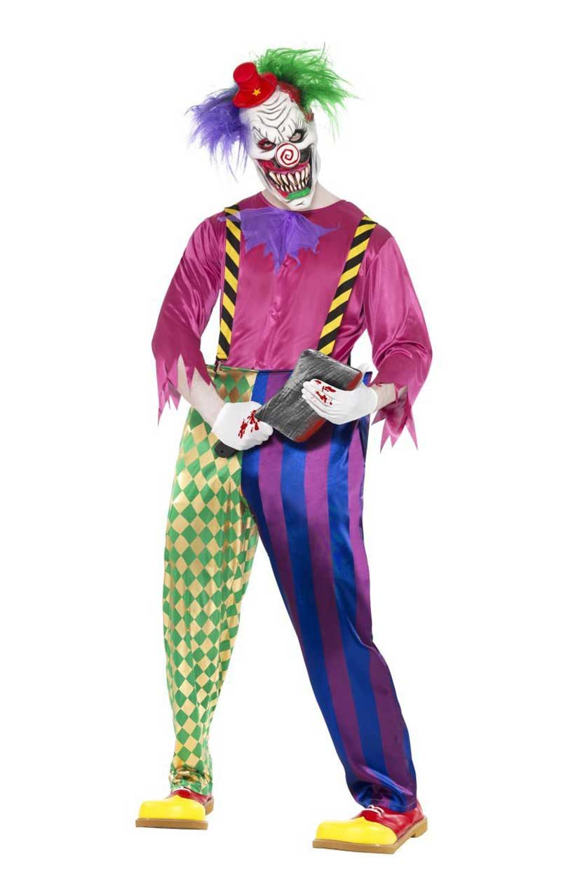 Kolourful Killer Klown Costume