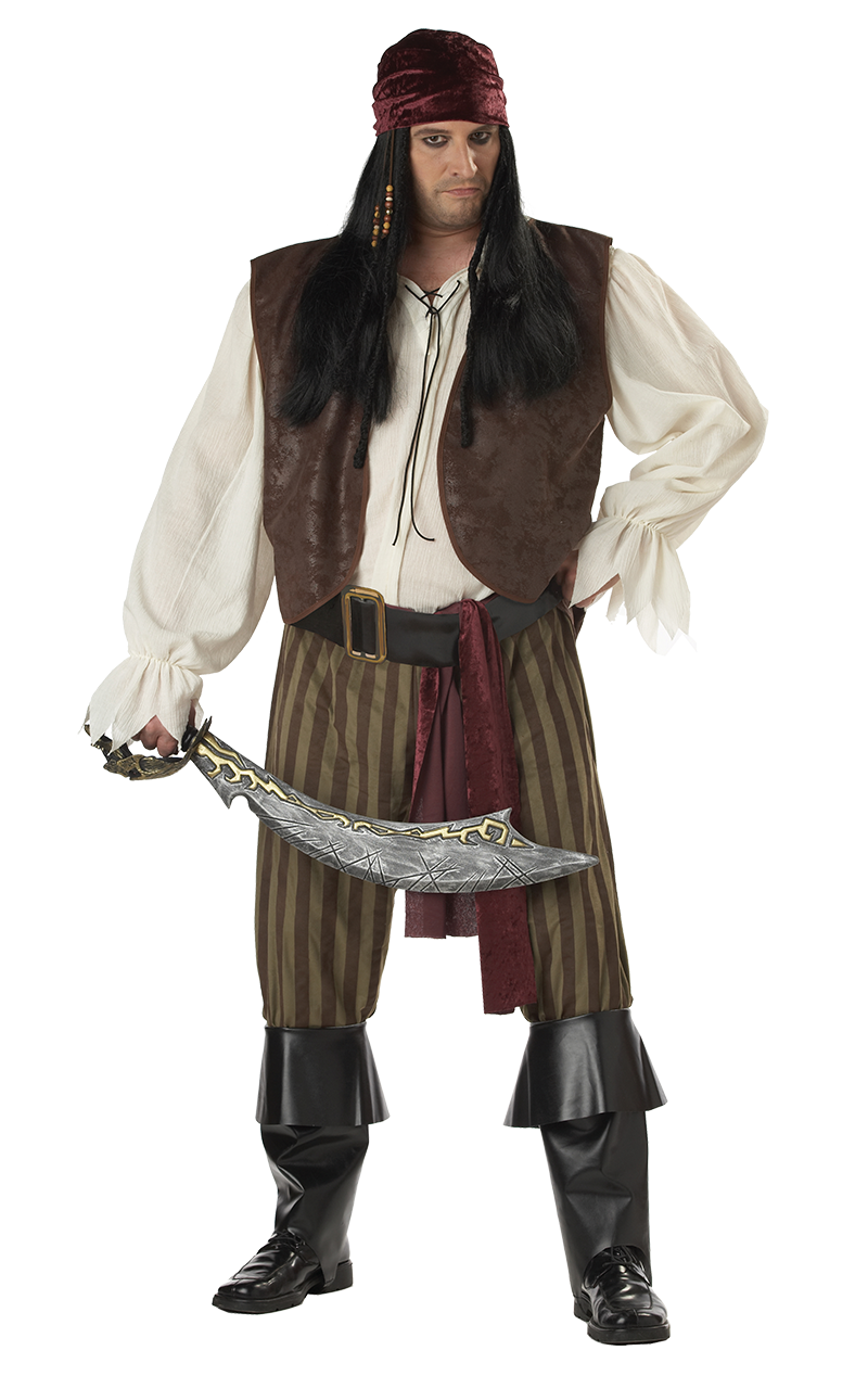 Rogue Pirate Plus Size Costume
