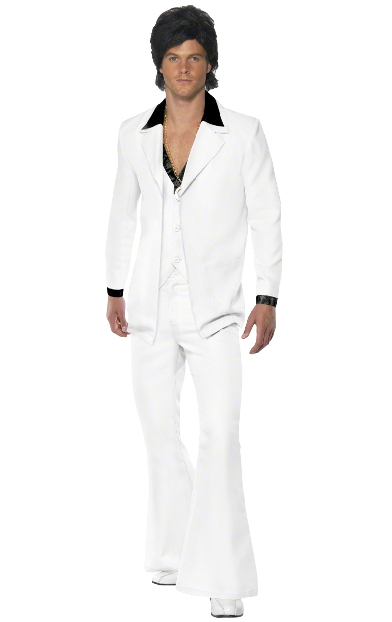 1970s White Suit Costume