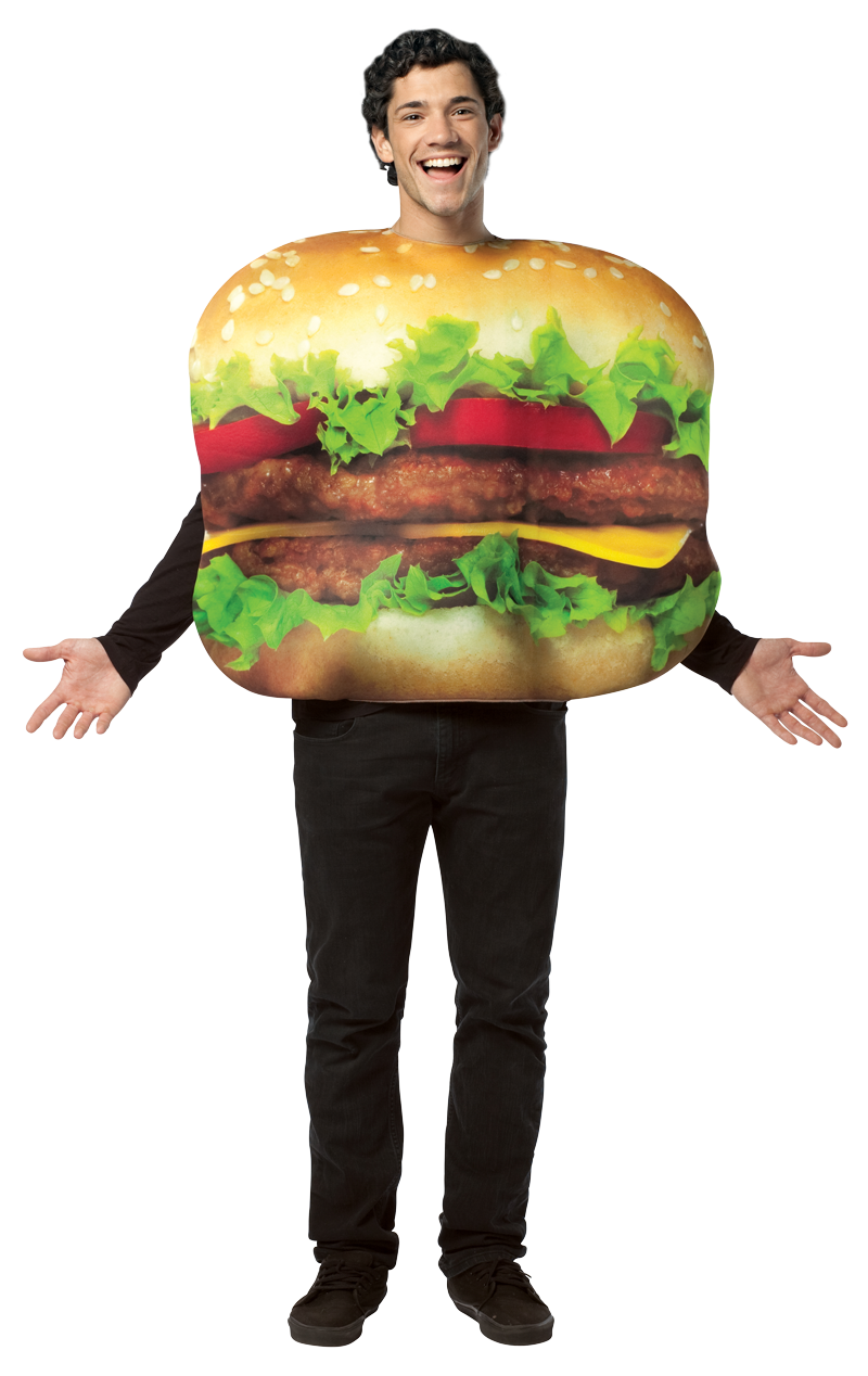 Double Cheeseburger Costume