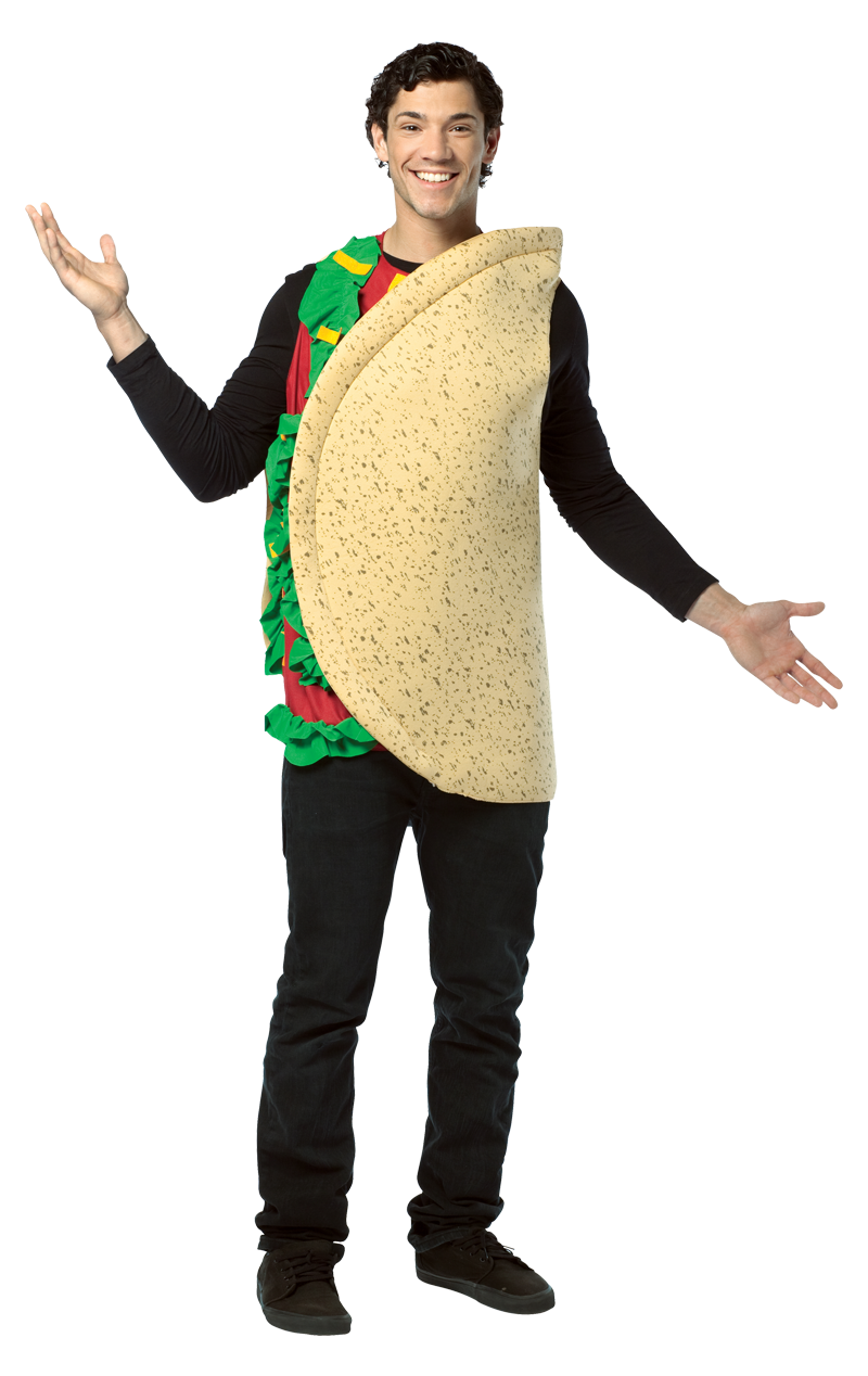 Light Weight Taco Costume