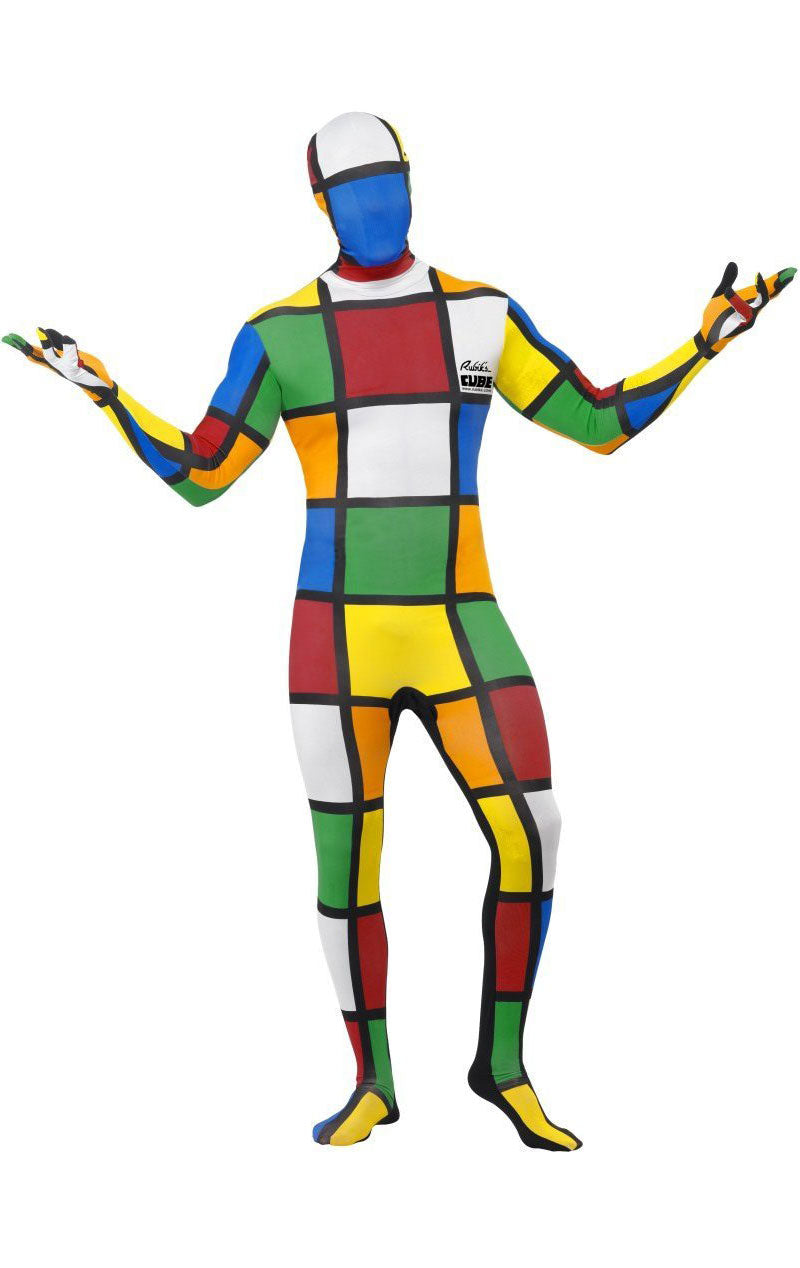 Rubiks Cube Second Skin Costume