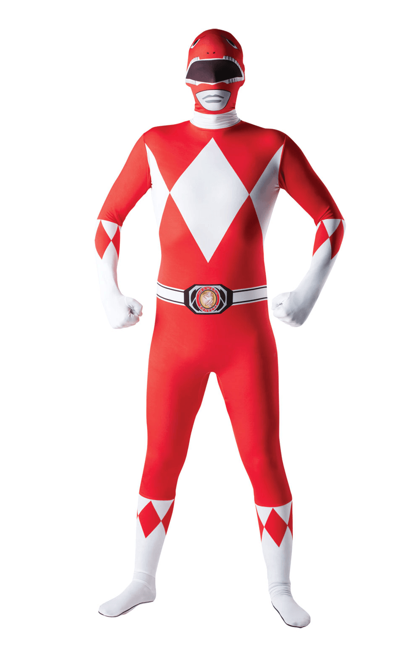 Red Power Ranger Skin Costume