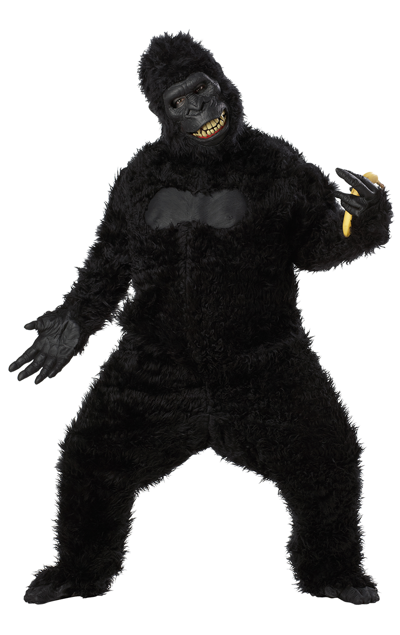 Ani-Motion Facepiece Ape Costume