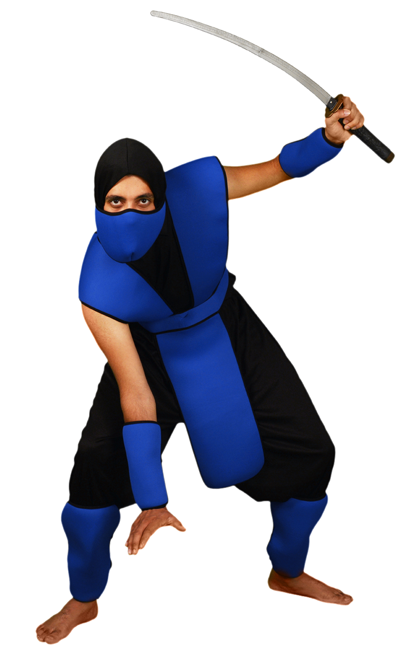 Snake Eyes Ninja - Blue Costume