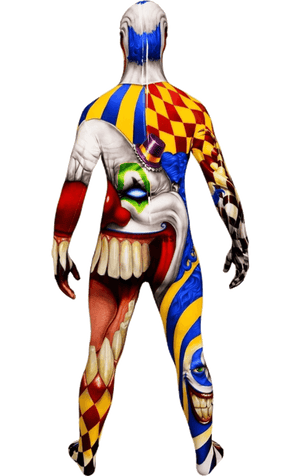 Monster Clown Morphsuit Costume