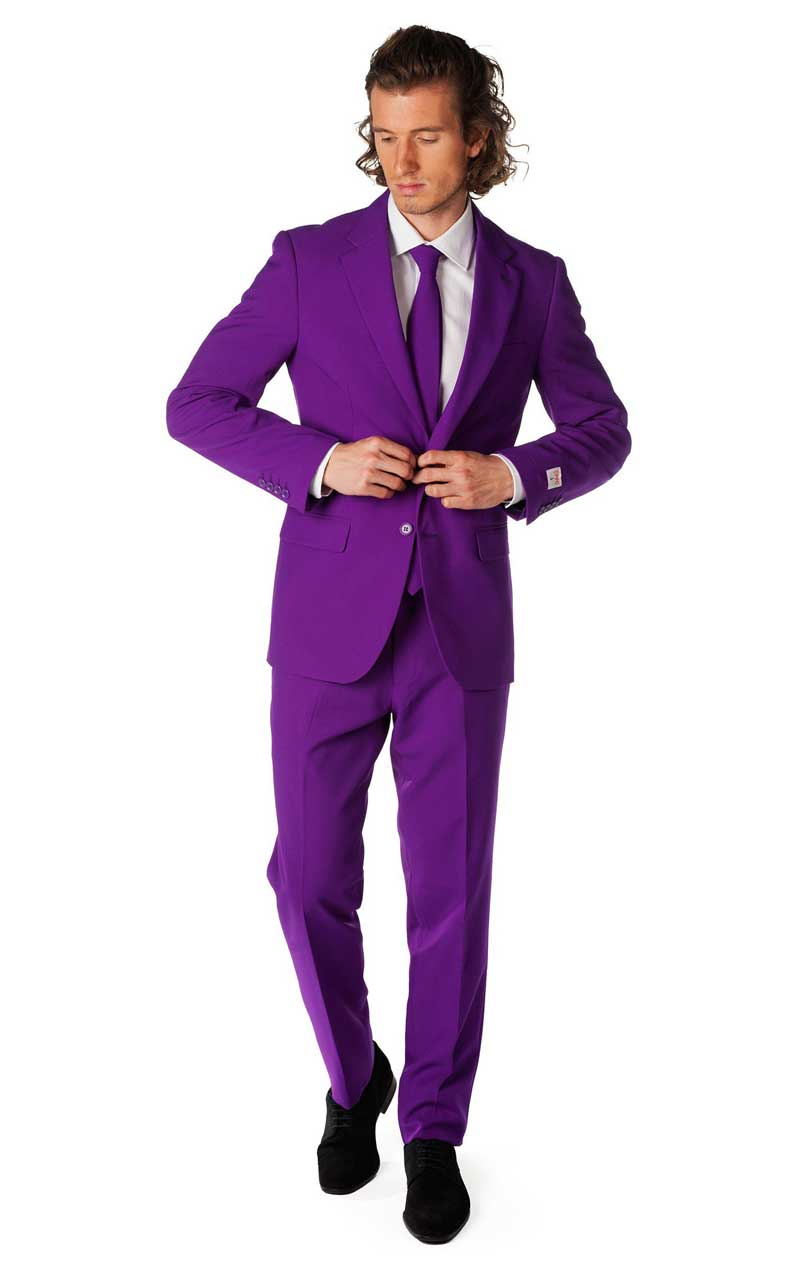 Purple Prince OppoSuit Costume