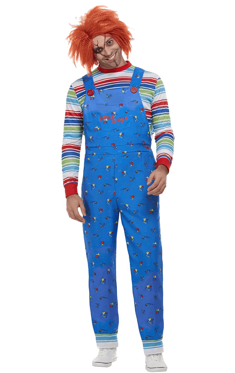 Mens Chucky Halloween Costume