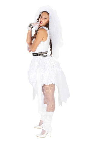 Womens 80s Bride Costume