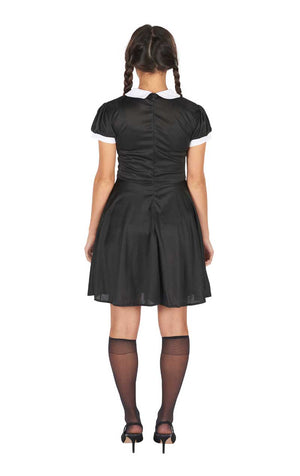 90s Wednesday Addams Costume
