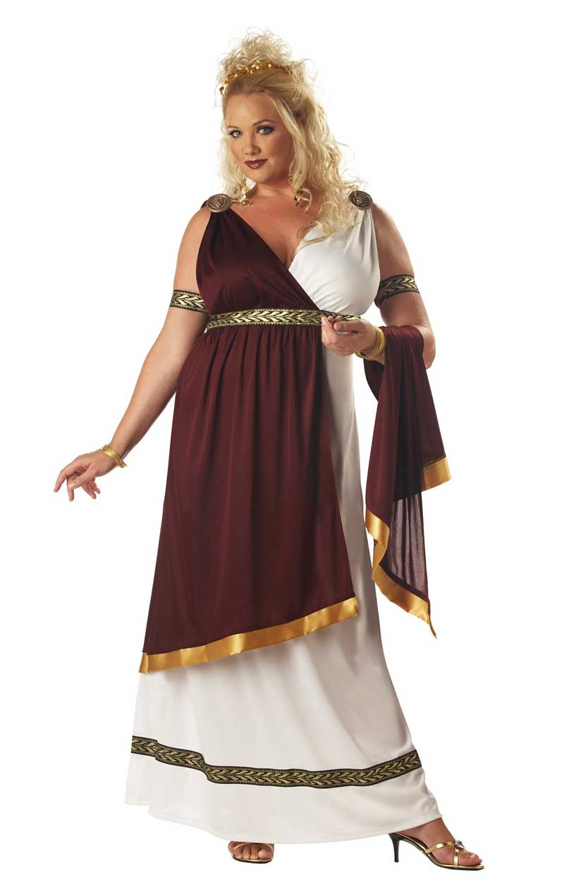 Roman Empress Plus Size Costume