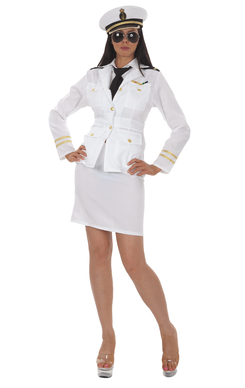 Womens Pilot Captain Costume