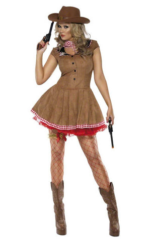 Wild West Brown Costume