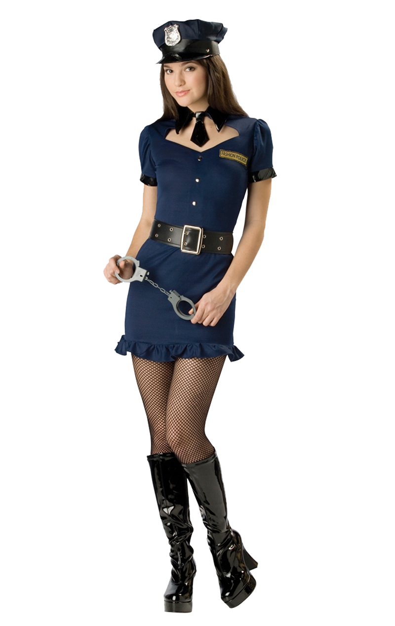 Fashion Police Teen Costume