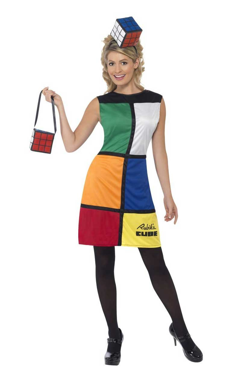Rubiks Cube Outfit Costume