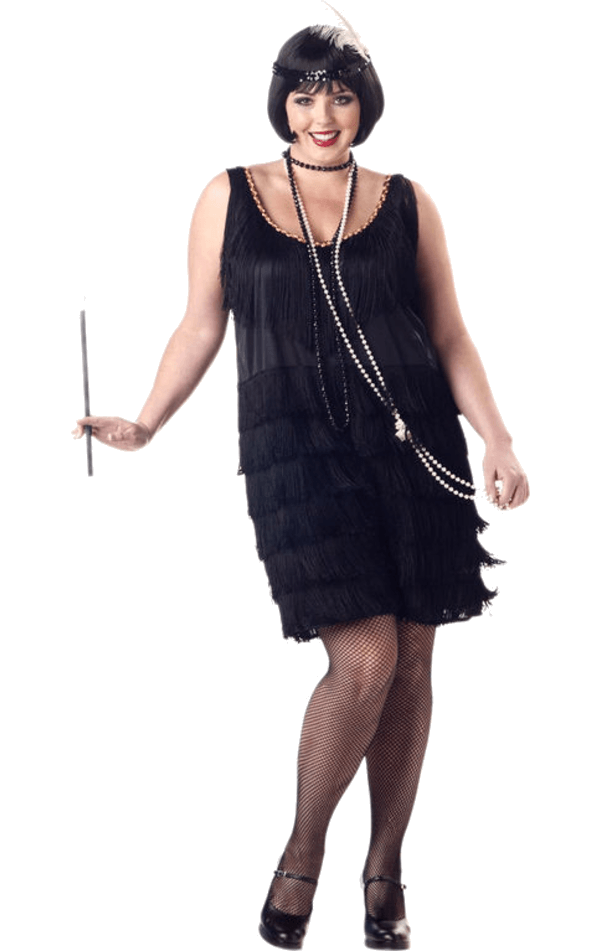 Fashion Flapper Plus Size
