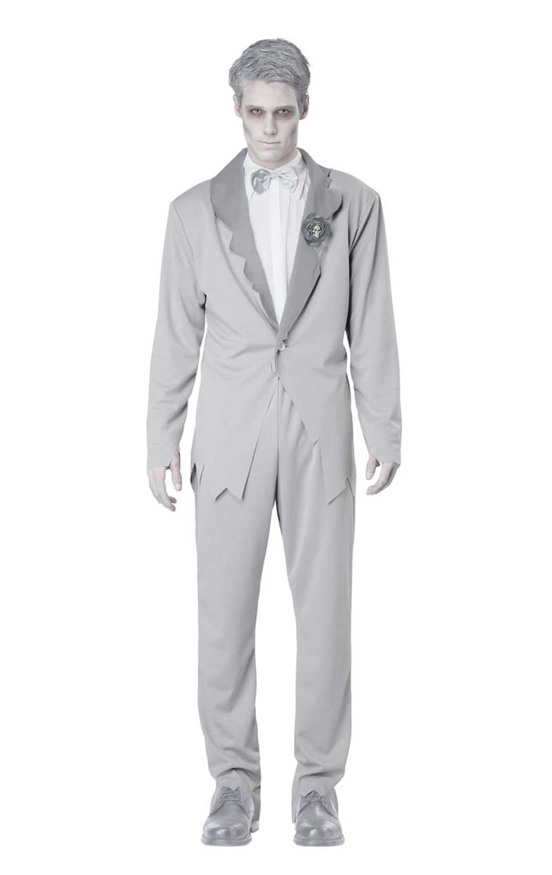 Ghostly Groom Costume - Fancydress.com