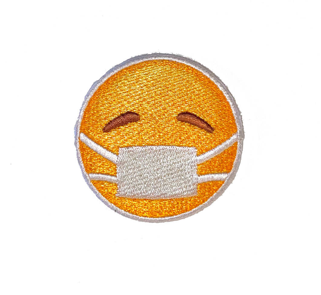 Emoji Mask Sticker Patch