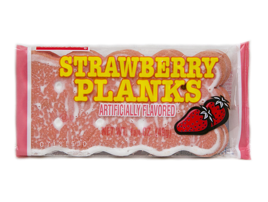 Strawberry Planks