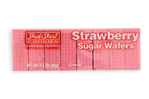 Strawberry Sugar Wafers