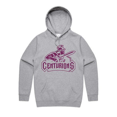 Centurions Logo Heather Grey Hoodie