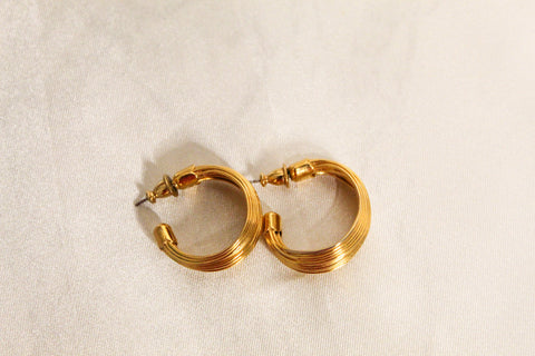 Angeline Gold Hoops