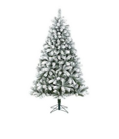 Sapin artificiel Black Box Trees Frosted - h120xd82cm.