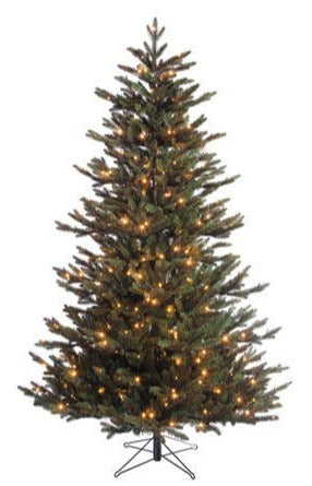 Sapin artificiel Macallan LED - h185xd127cm