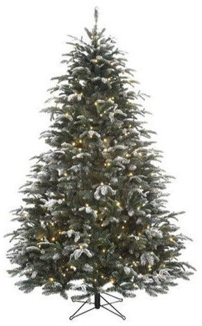Sapin artificiel Stelton Frosted LED - h215xd147cm