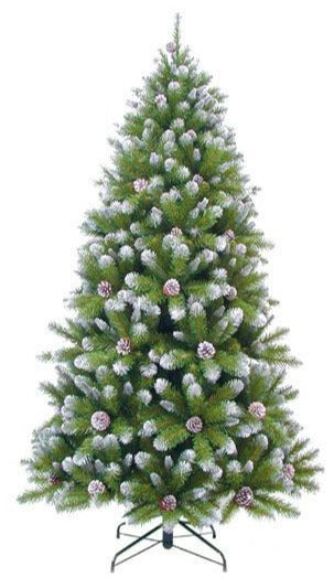 Sapin artificiel - Empress Spruce Frosted - h260xd145cm