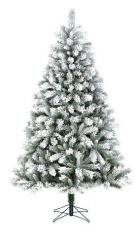 Sapin artificiel Chandler Frosted - h185xd104cm.