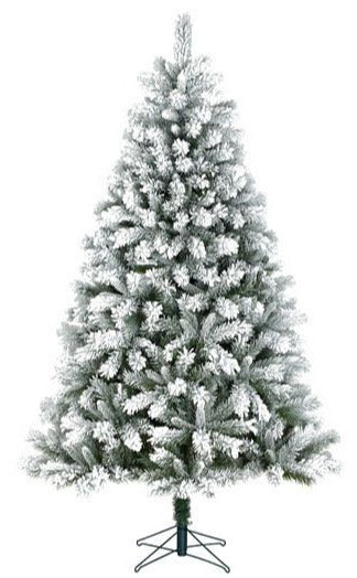 Sapin artificiel - Chandler Frosted - h260xd147cm