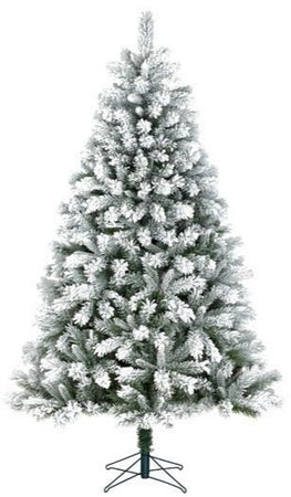 Sapin artificiel Chandler Frosted - h305xd170cm