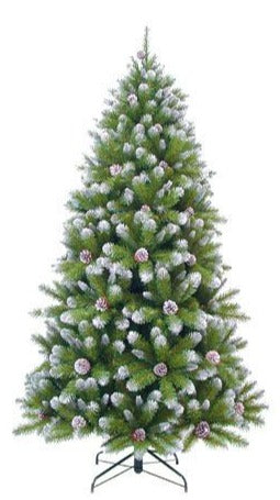Sapin artificiel - Empress Spruce Frosted - h185xd107cm