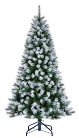 Sapin artificiel Kingston Frosted - h215xd117cm