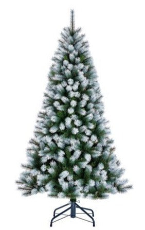 Sapin artificiel Kingston Frosted - h185xd102cm