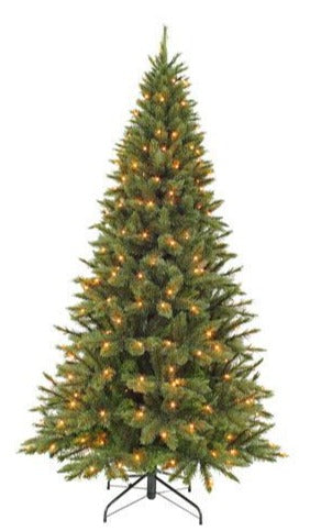 Sapin artificiel - Forest pin Frosted LED - h215xd117cm