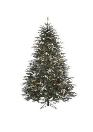 Sapin artificiel - Black Box Trees Frosted & LED - h120xd104cm.
