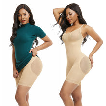 Load image into Gallery viewer, Butt Lifter Full Tummy Control Seamless Slimming Body Shaper Women