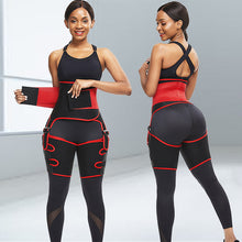 Load image into Gallery viewer, Three Functions in One Piece, Butt Lifter Waist And Thigh Trainer Workout Waist Trainer