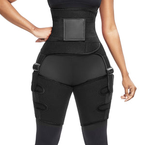Three Functions in One Piece, Butt Lifter Waist And Thigh Trainer Workout Waist Trainer
