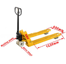 Load image into Gallery viewer, 3T Wide Fork Pallet Truck