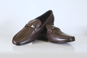 Load and play video in Gallery viewer, SHOE MOC CM-8286 COFFEE