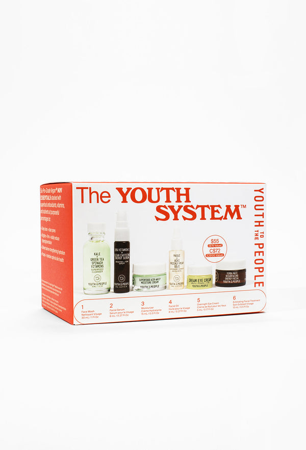 The Youth System™ 6-Piece Minis Kit by Youth To The People