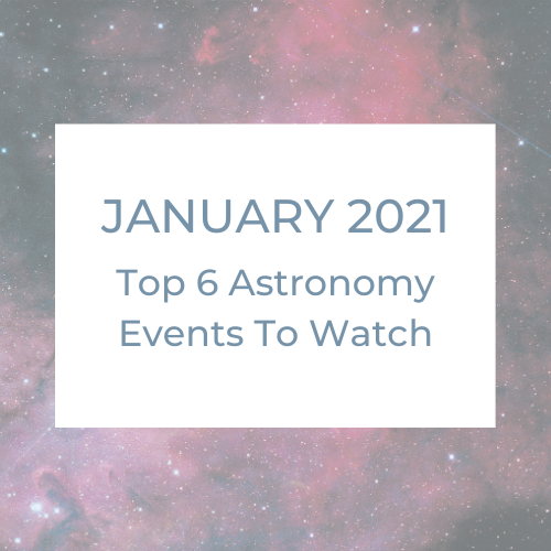 Top 6 Astronomy Events To Watch For: January 2021