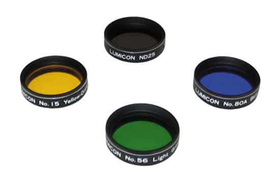 Accessories - Lumicon 1.25 Inch Lunar & Planetary Color Filter Set - LF5045